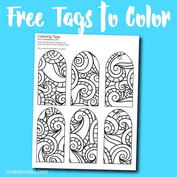 Free Printable Gift Tags To Color Free Printable Gift Tags Free