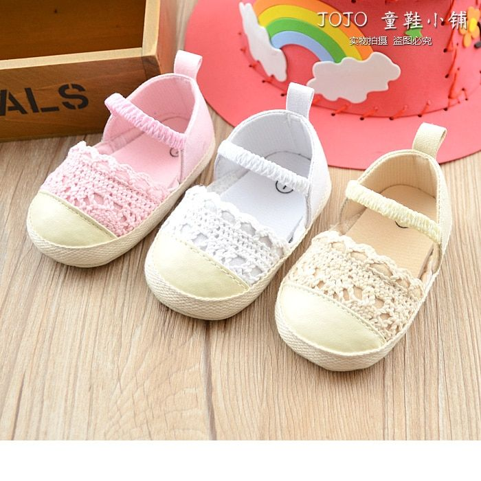 36ce80496e5b The New Spring And Summer 2019 Girls Shoes Hollow Out Baby Princess Shoes  Soft Bottom Breathable