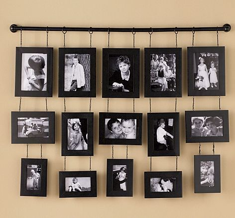 Hanging Photo Frames Let it Hang Pinterest House