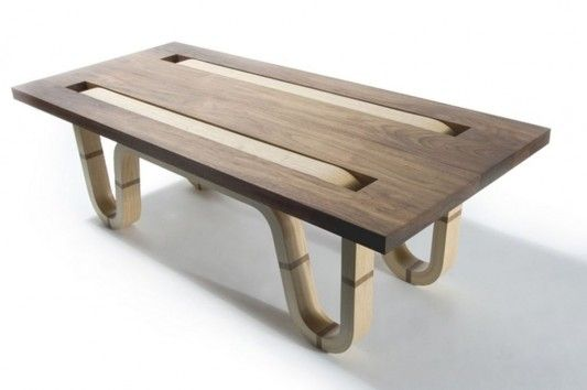 Complect Coffee Table Easy To Assemble And Disassemble By Matt Finder Coffee Table Plywood Coffee Table Coffee Table Design