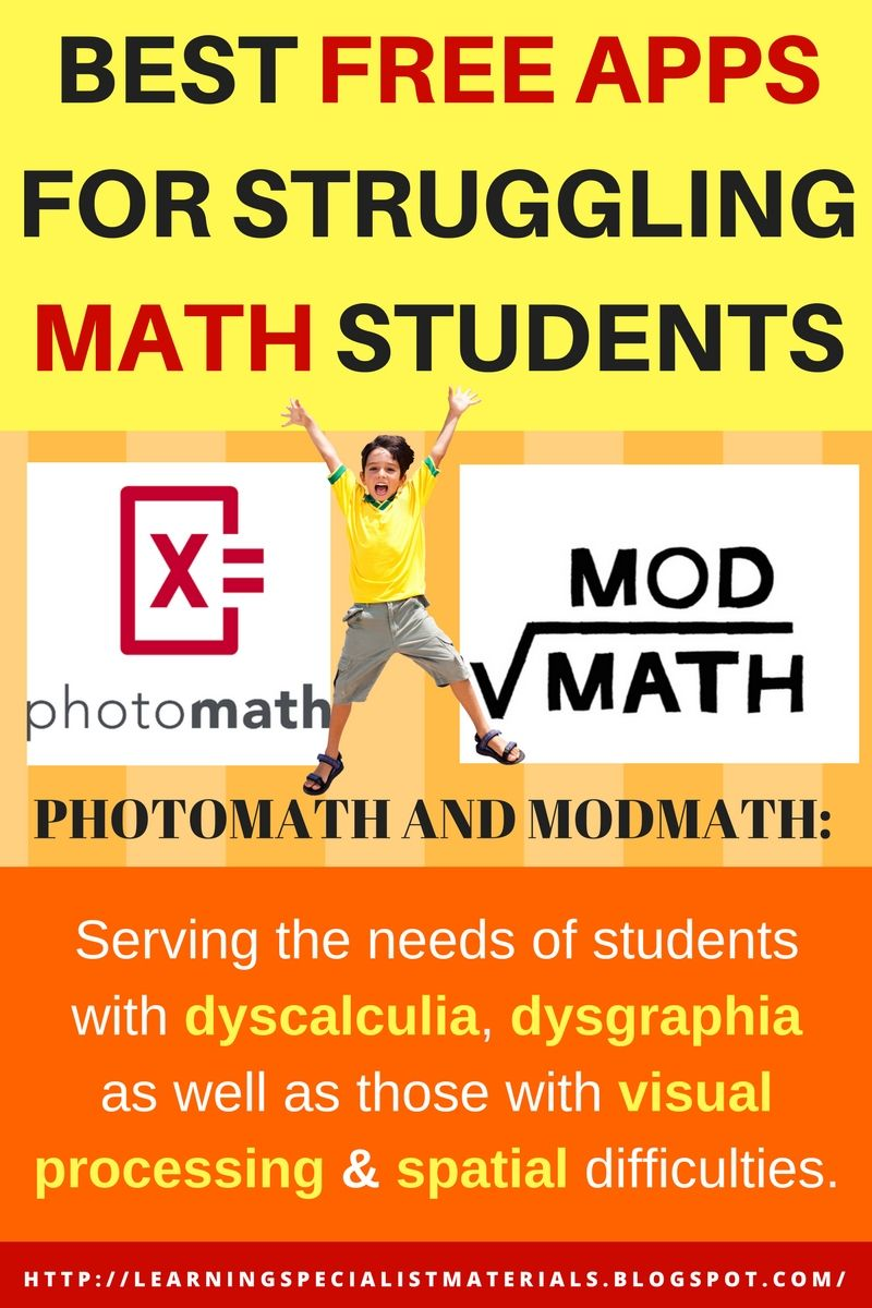 PhotoMath and ModMath: Best FREE Apps for Struggling Math Students ...