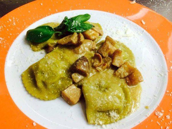 Homemade pasta from Osteria Bonelli.