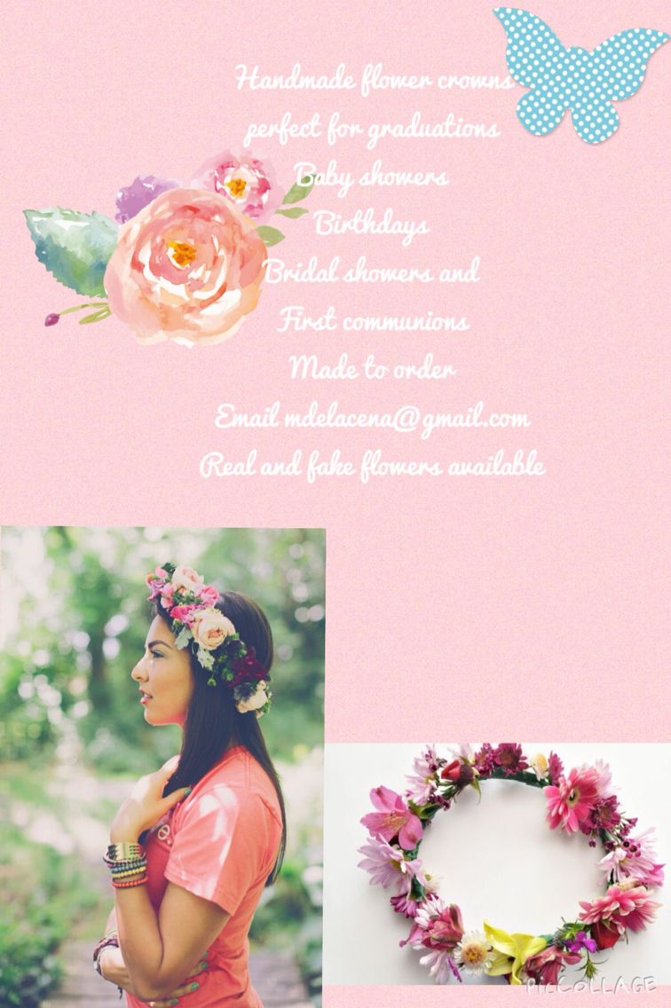 Custom made flower crowns so cool pinterest flower crowns custom made flower crowns izmirmasajfo
