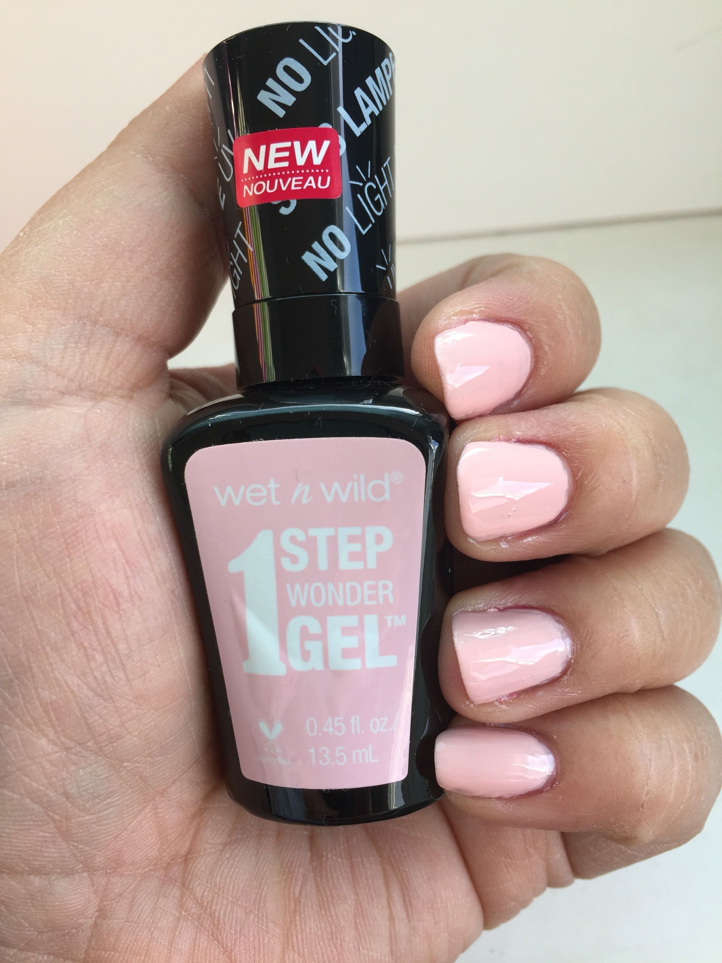Wet n Wild 1 Step Wonder Gel Nail Polish* | Gel nail polish, Makeup ...