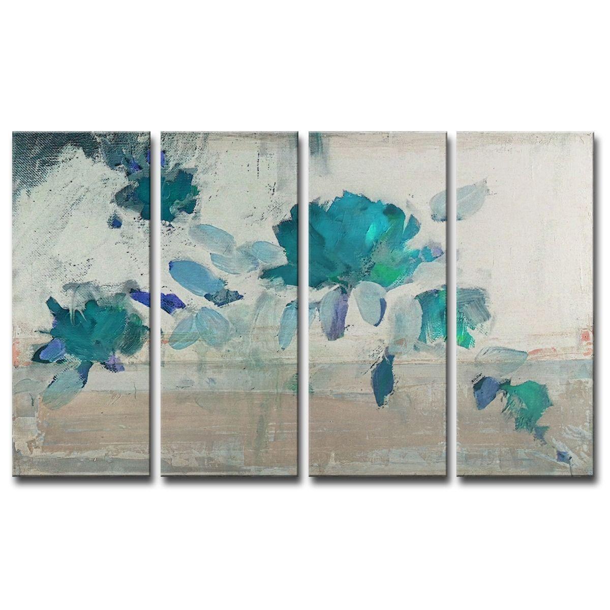 Readyhangart upainted petals ivbu piece wall art set products