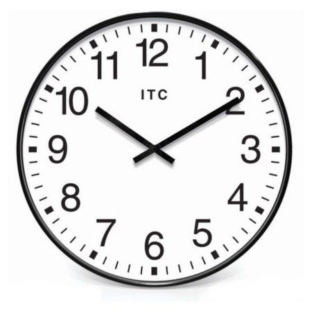 Home Office Wall Clock Clock Wall Clock Black White