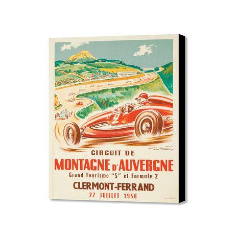 """Montagne D'Auvergne (20"""" x 16"""")"""