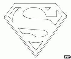 Superman Desenho Colorir Escudo Pesquisa Google Com Imagens