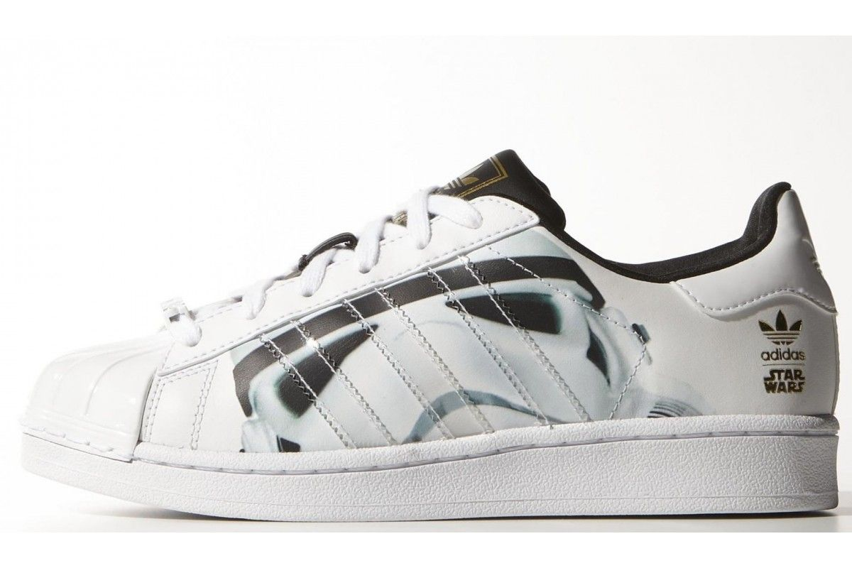 promo code 670e2 099e0  Superstar  StarWars  Stormtrooper  Shoes