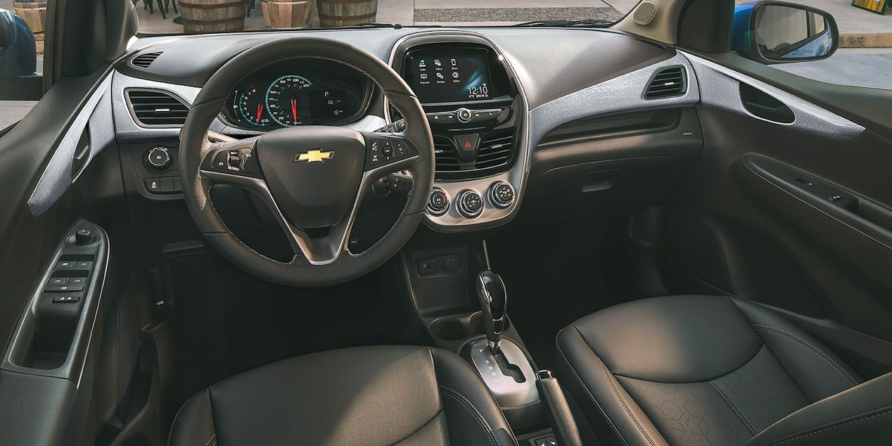 chevrolet 2018 spark city car activ interior