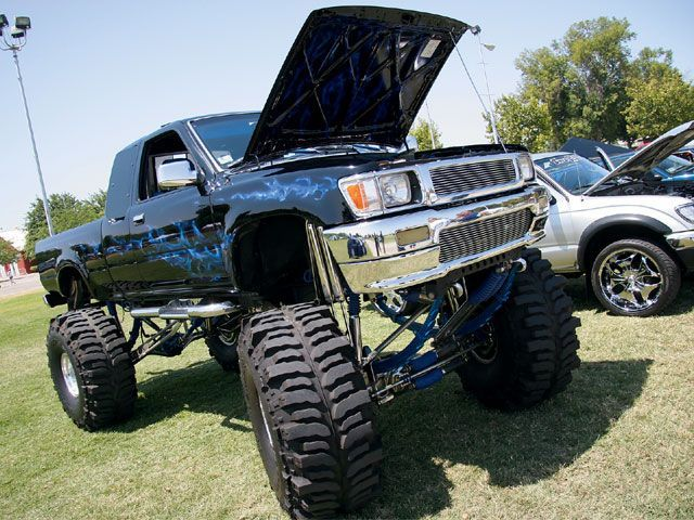 All Jacked Up Trucks Pinterest Trucks Toyota Trucks And Toyota