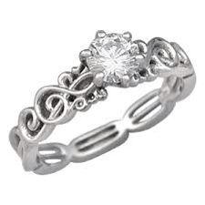 Music Engagement Ring