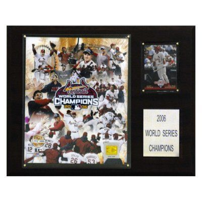 Cardinals 2006 World Series Champions Plaque