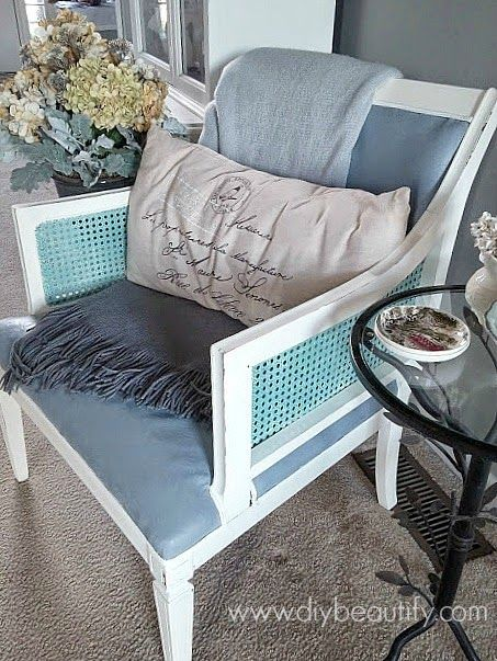DIY beautify: Painting an Upholstered Chair