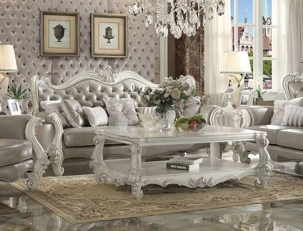 white victorian living room furniture | Victoriano Style | Pinterest ...