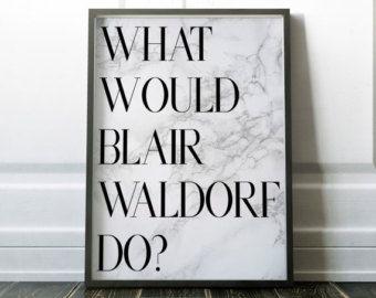 gossip girl blair waldorf chuck bass all i need printbare - Blair Waldorf Schlafzimmer Dekor