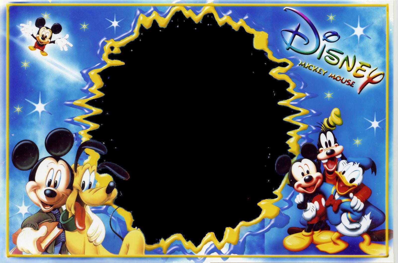 Marcos Para Photoshop Y Algo Mas Mickey Y Sus Amigos 2 Disney
