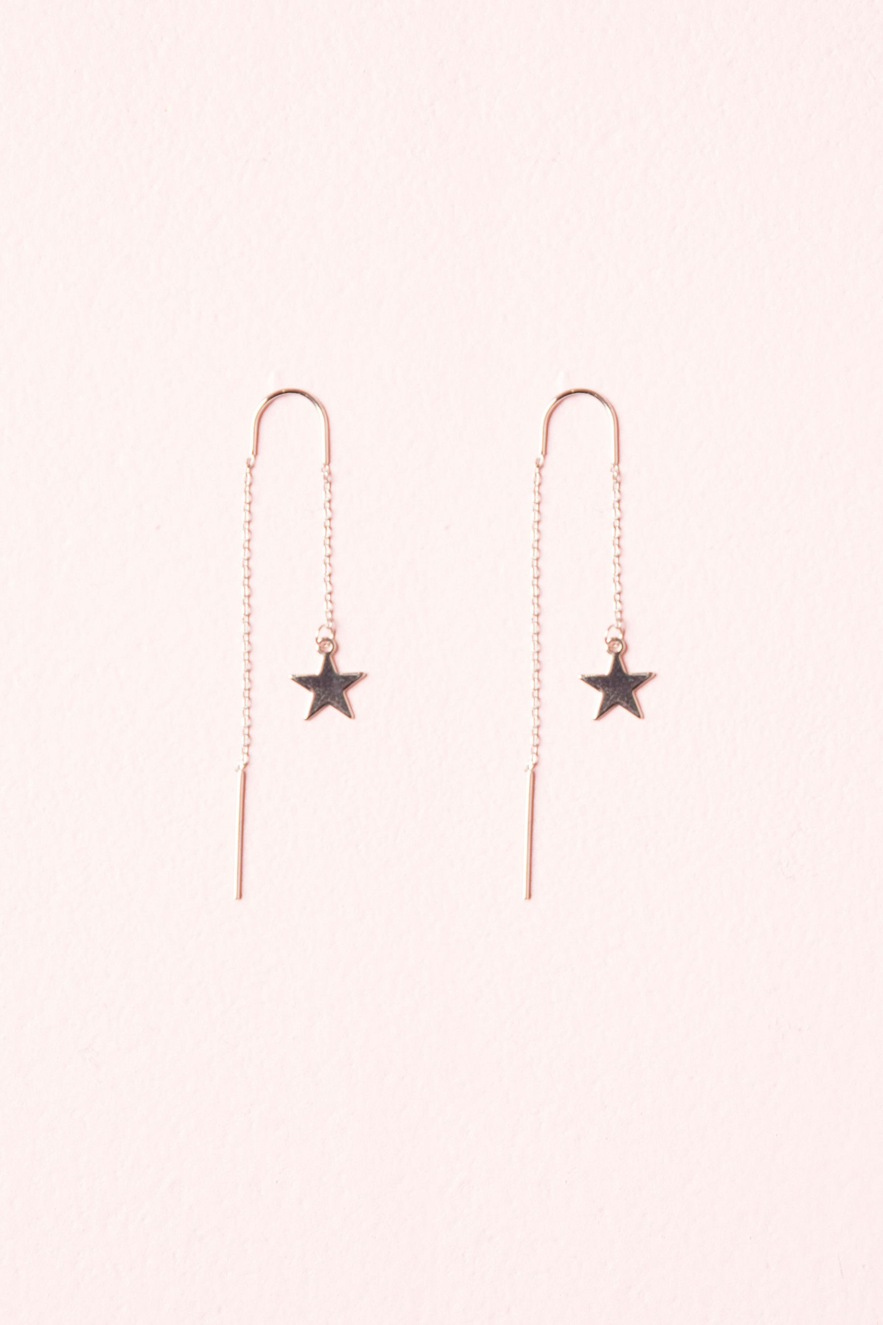 6df037688 Silver Star Drop Earrings in 2019 | gifts for Caitlin | Earrings ...
