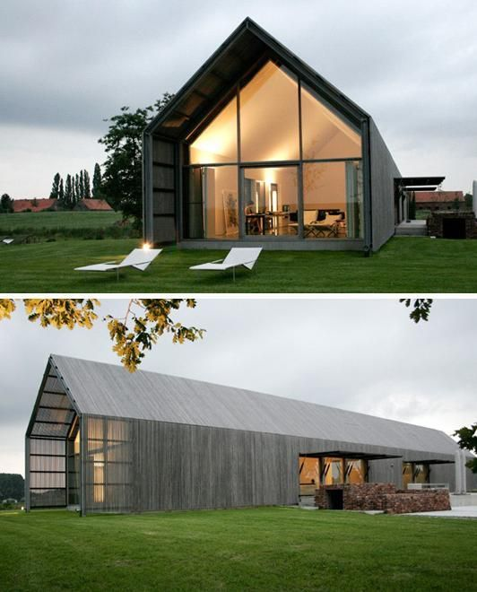 66 incredible house design inspirations architecture for Rechteckiges haus