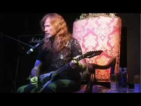 Guitar Center Sessions Dave Mustaine Holy Wars Dave Mustaine