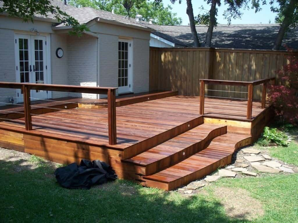 Homemade cleaner for decks with images decks backyard