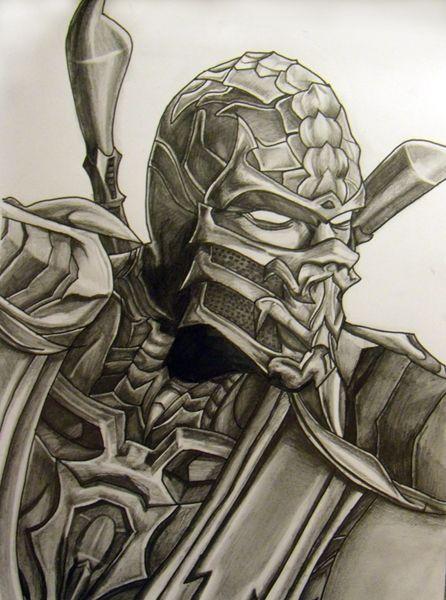 Scorpion By Firstxaidxkit On Deviantart Mortal Kombat Art Art