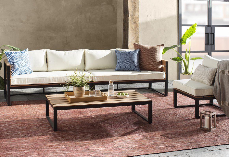 Best 4 Piece Sectional Set With Cushions Móveis Para Jardim 640 x 480