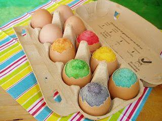 Heerlijke recepten van Jacqueline: Paascake in eierschaal