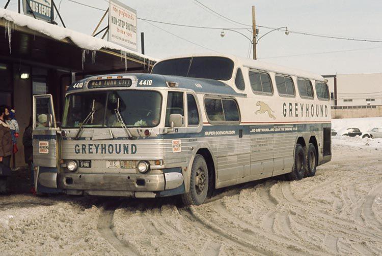 Vintage Bus Greyhound San Francisco Day In 1970 Added 11 19 05