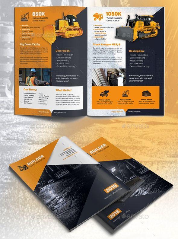 Contoh Company Profile Kontraktor : contoh, company, profile, kontraktor, Contoh, Desain, Company, Profile, Perusahaan, Konstruksi, Kontraktor, Brosur, Perusahaan,, Profil