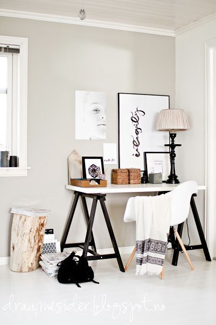 Beautifully calm office space.