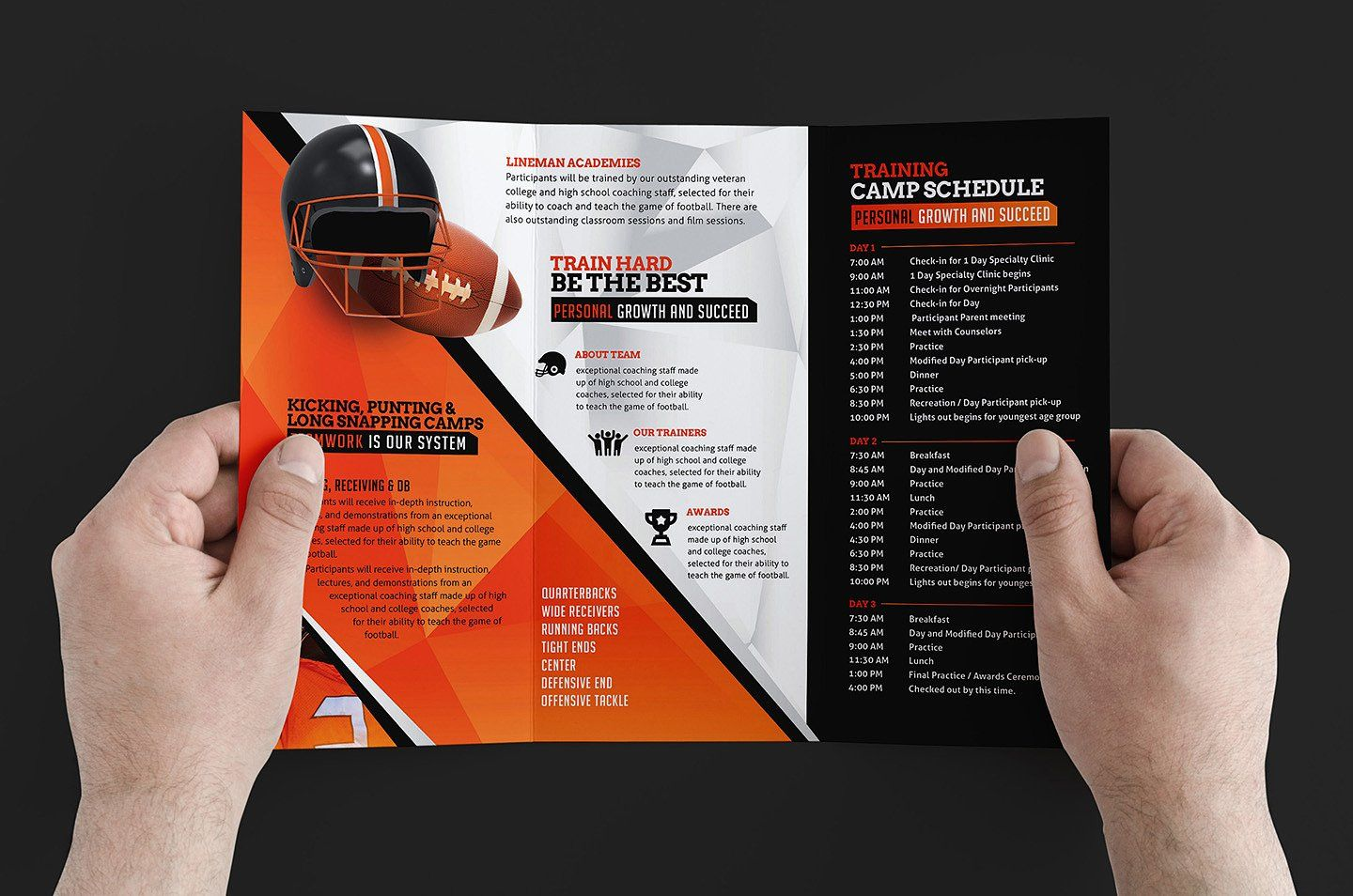 The amazing Free 12+ Training Brochure Designs In Word