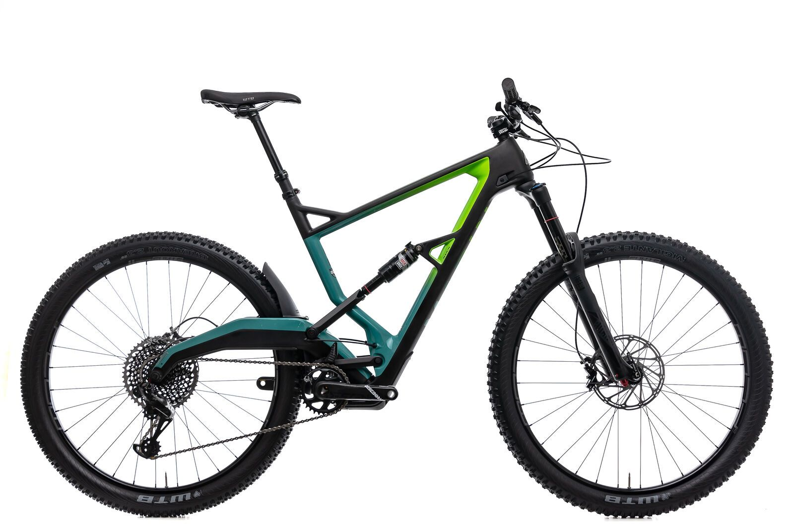 2019 Marin Wolf Ridge 9 Mountain Bike X Large 29 Carbon Sram X01