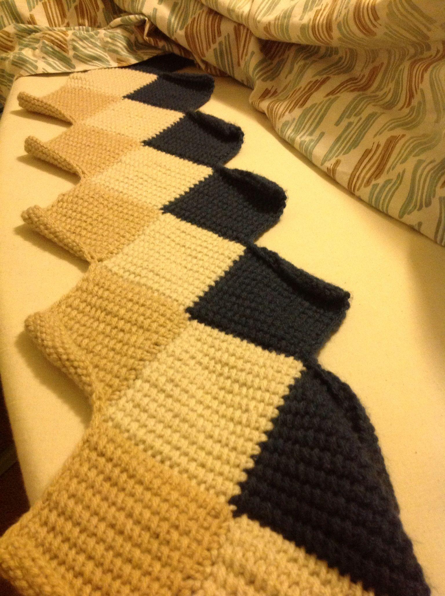 Tunisian crochet entrelac scarf tunisian crochet pinterest tunisian crochet entrelac scarf bankloansurffo Gallery