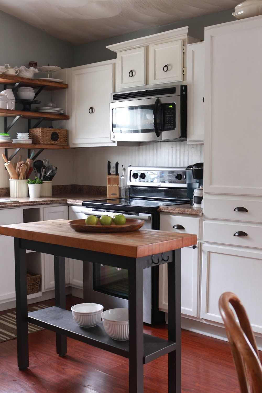 My Diy Kitchen How I Built A Rangehood Over An Existing Cabinet Made By Carli Kitchen Remodel Kitchen Style Kitchen Renovation