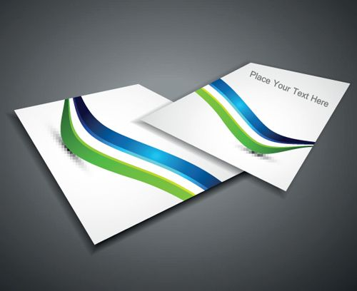 Set of Business form design vector 01 Business vector - business form