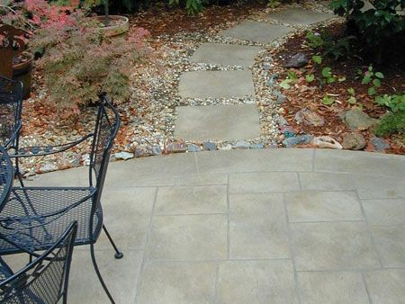 Home-Dzine - How to lay a DIY concrete patio DIY Pinterest
