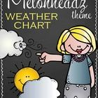 Rain, Snow, or Sunshine ... your students will love tracking the weather with this adorable Melonheadz Weather Chart.   For your convenience, I hav...