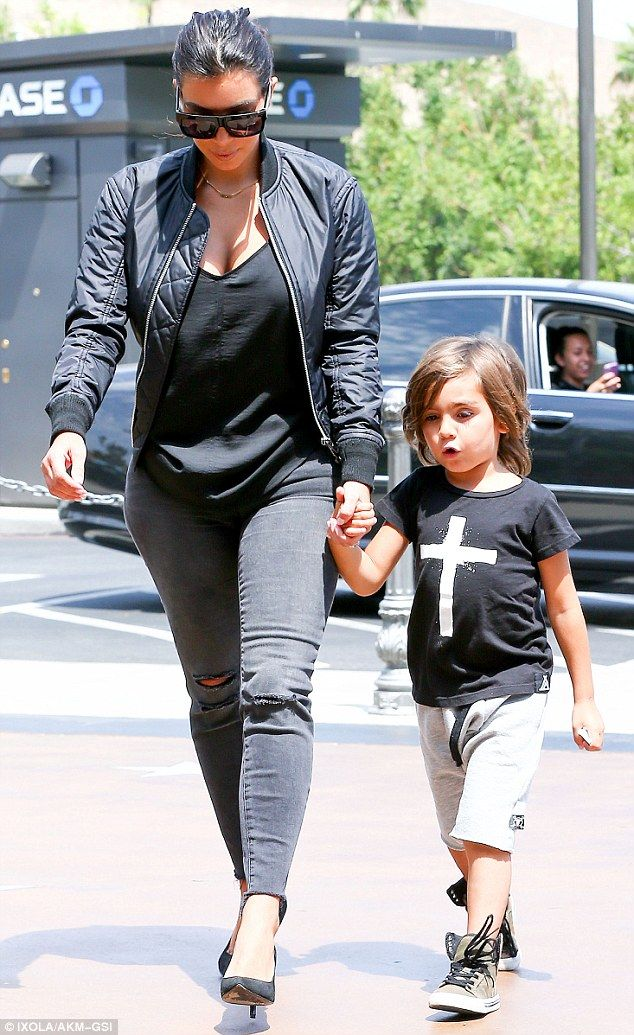586d54b32bf2 Giving her sister a break  Mason is the son of Kourtney Kardashian and  Scott Disick