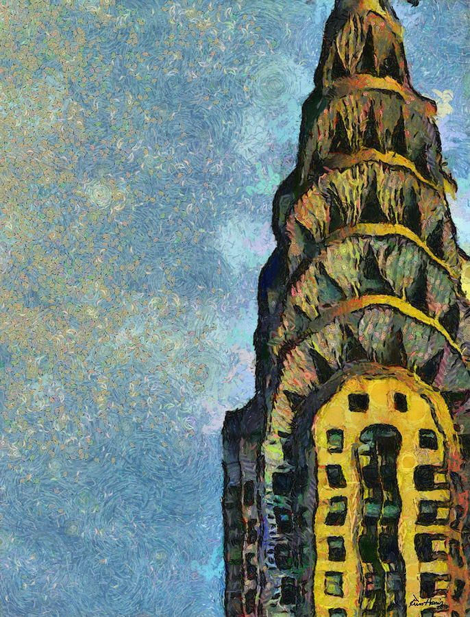Chrysler Building New York By Russ Harris Chrysler Building New
