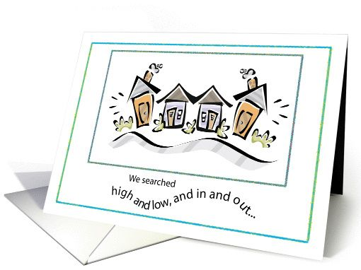 Thank you to realtor for selling our house with colorful houses card thank you to realtor for selling our house with colorful houses card m4hsunfo