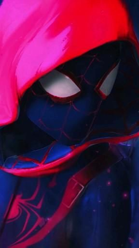 | Save & Follow | Spiderman: Into the Spiderverse • Live Wallpaper • Marvel