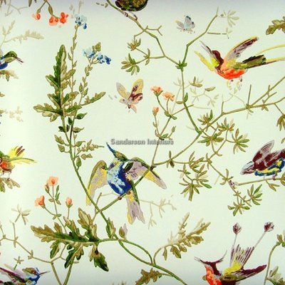 Buy Cole Son Hummingbirds Wallpaper From Our Range At John Lewis