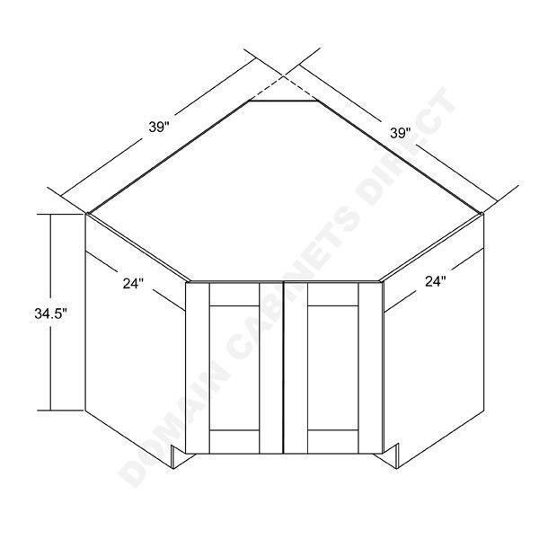 Diagonal Base Corner Cabinet Corner Sink Built In Cabinets Cabinet