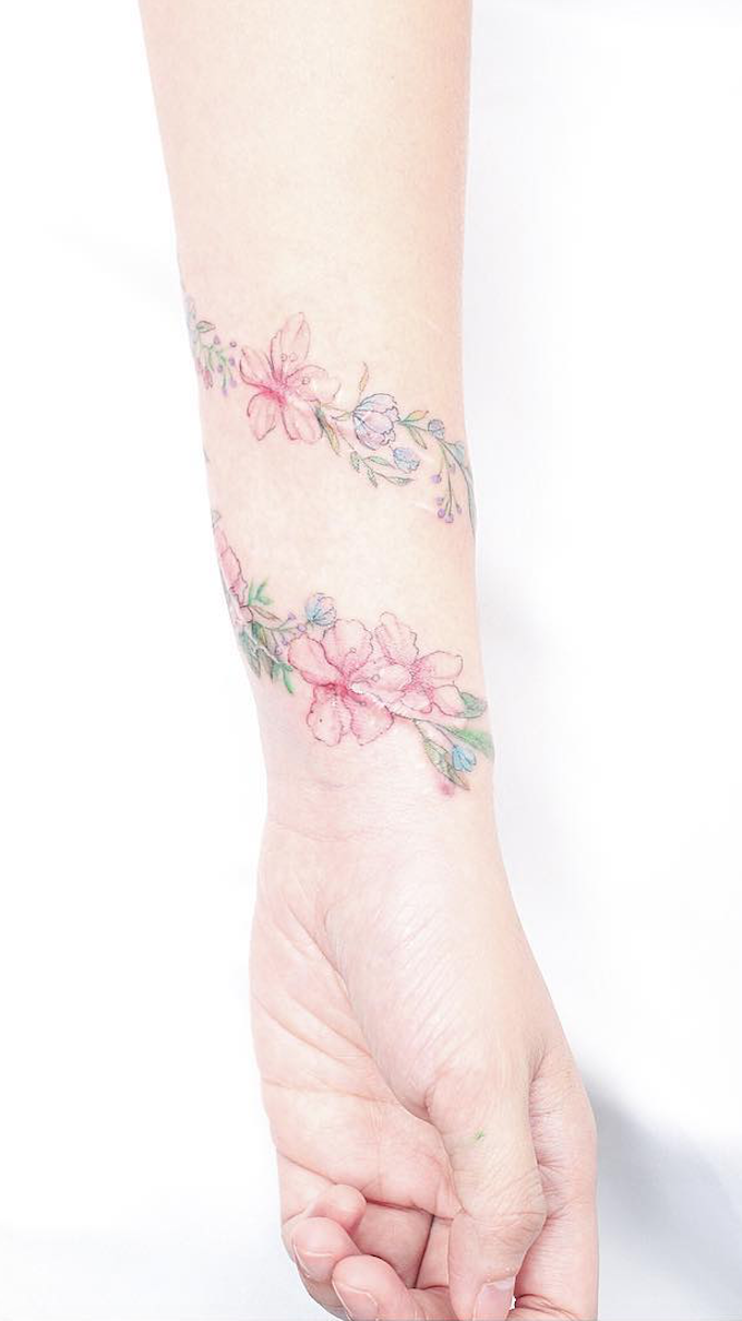 Discreet and charming wrist tattoos youull want to have classy