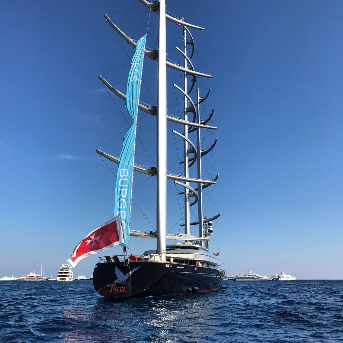 Maltese Falcon Sailing ships, Yacht, Sailing