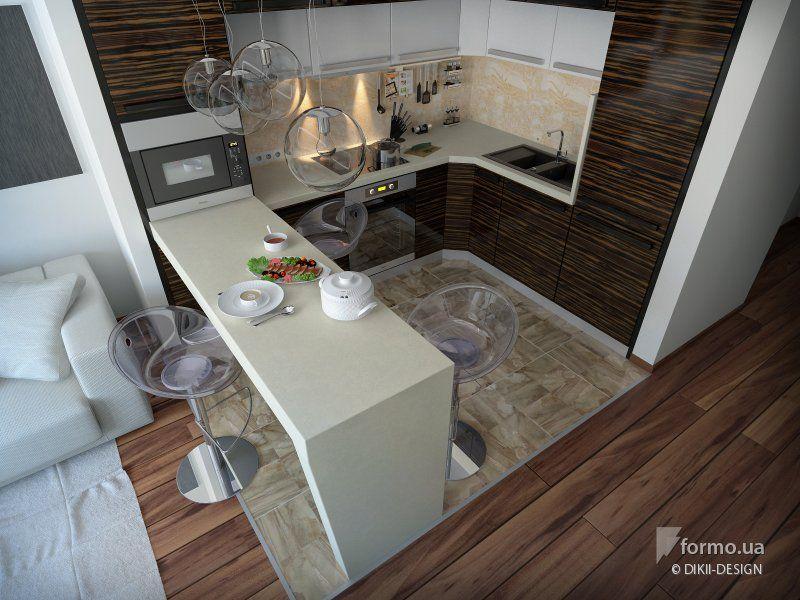 Активная жизнь, DIKII-DESIGN, Кухня, Дизайн интерьеров Formo.ua