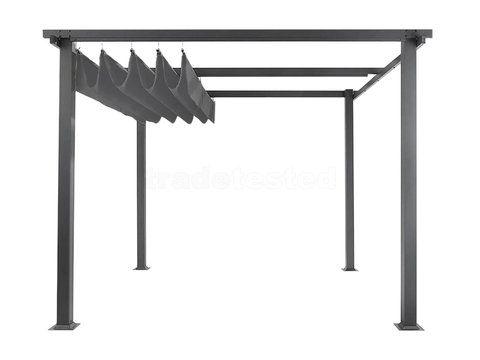 599 Trade Tested Free Standing Pergola Aluminium 3m x 4m Our