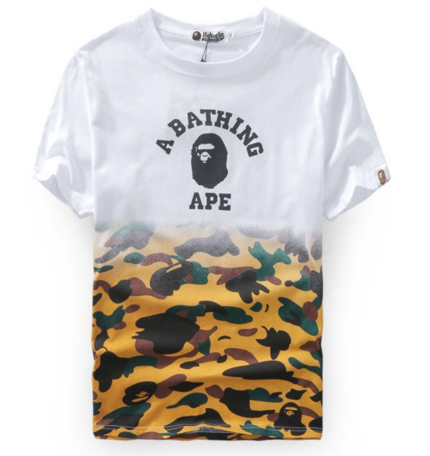 b91003fe8954b Camo Bape Shirt | Clothing | Bape shirt, Bape t shirt, Bape