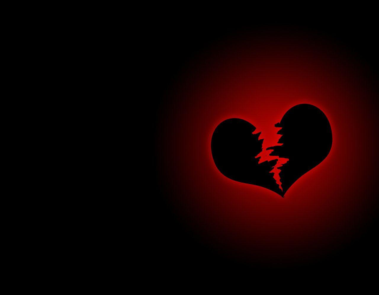 When Two Hearts Is Break Broken Heart Wallpaper Heart Wallpaper Broken Love Images